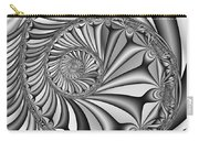 Abstract 527 Bw Carry-all Pouch