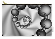 Abstract 537 Bw Carry-all Pouch