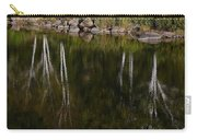 Abstract Along The River Carry-all Pouch