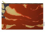 Abstract American Flag - Red, White And Blue The Star Spangled Banner Carry-all Pouch by Adam Asar