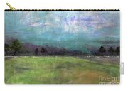 Abstract Aqua Sky Landscape Carry-all Pouch