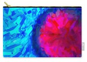 Abstract Art Combination - The Pink Martian Crater, Ca 2017, By Adam Asar ,  In 3d Watercolor Carry-all Pouch