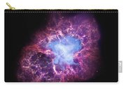 Abstract Heavenly Art - The Crab Nebula Carry-all Pouch