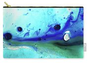 Abstract Art - Making Waves - Sharon Cummings Carry-all Pouch