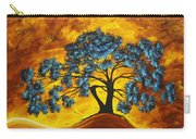 Abstract Art Original Landscape Painting Dreaming In Color By Madartmadart Carry-all Pouch by Megan Duncanson
