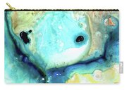 Abstract Art - Holding On - Sharon Cummings Carry-all Pouch