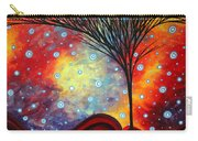 Abstract Art Whimsical Landscape Painting Morning Bliss By Madart Carry-all Pouch