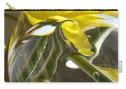 Abstract Artwork Daffodils Flowers 1 Natural Abstract Art Prints Glass Vase Water Art Light Air Carry-all Pouch