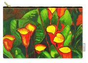 Abstract Arum Lilies Carry-all Pouch