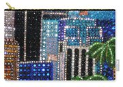 Los Angeles. Rhinestone Mosaic With Beadwork Carry-all Pouch