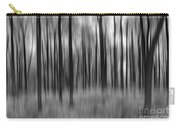 Abstract Autumn Bw Carry-all Pouch