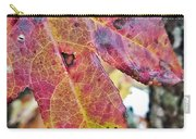 Abstract Autumn Leaf 2 Carry-all Pouch