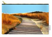 Abstract Beach Dune Boardwalk Carry-all Pouch