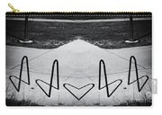 Abstract Bike Rack Carry-all Pouch