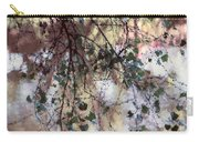 Abstract Birch Carry-all Pouch
