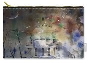 Abstract Birds In A Swirl Of Sky Colors Carry-all Pouch