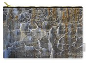 Abstract Bleeding Concrete Carry-all Pouch
