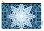 Abstract Blue 14 Carry-all Pouch