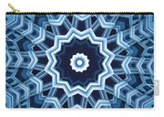 Abstract Blue 16 Carry-all Pouch