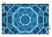 Abstract Blue 18 Carry-all Pouch