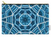 Abstract Blue 19 Carry-all Pouch