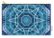 Abstract Blue 20 Carry-all Pouch