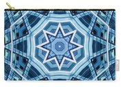 Abstract Blue 22 Carry-all Pouch