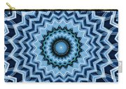 Abstract Blue 25 Carry-all Pouch