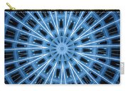 Abstract Blue 28 Carry-all Pouch