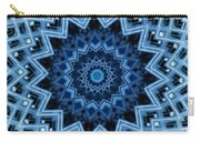 Abstract Blue 30 Carry-all Pouch