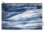 Abstract Blue Background Wild River Carry-all Pouch