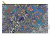Abstract Blue Dots Carry-all Pouch