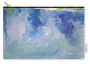Abstract Blue Reflection Carry-all Pouch
