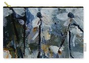 Abstract Bunch Of Flowers  Carry-all Pouch