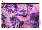 Abstract Burst Of Flowers Carry-all Pouch