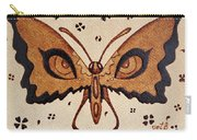 Abstract Butterfly Coffee Painting Carry-all Pouch