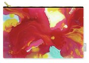 Abstract Butterfly Floral Carry-all Pouch