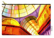 Abstract Cathedral Color Wheel Carry-all Pouch