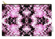 Pink And Black Design  Carry-all Pouch