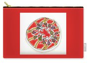 Abstract Circle Design #1 Carry-all Pouch