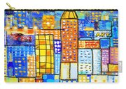 Abstract City Carry-all Pouch