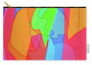 Abstract Color Block  Carry-all Pouch