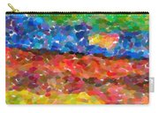 Abstract Color Combination Series - No 8 Carry-all Pouch