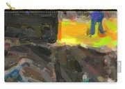 Abstract Color Combination Series - No 9 Carry-all Pouch
