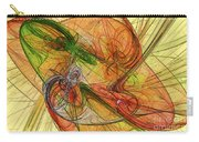 Abstract Color Swirls Carry-all Pouch
