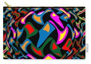 Abstract Colorful Art Exploded View Of Whirlwind At Its Builds On Dry Leaves Carry-all Pouch