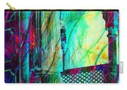 Abstract Colorful Window Balcony Exotic Travel India Rajasthan 1a Carry-all Pouch