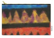 Abstract Combination Of Colors No 4 Carry-all Pouch