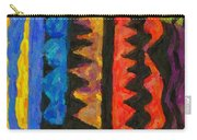 Abstract Combination Of Colors No 5 Carry-all Pouch