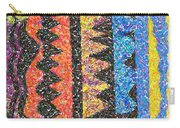 Abstract Combination Of Colors No 6 Carry-all Pouch